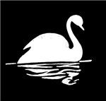 White Swan Silhoutte