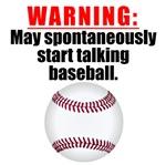 Spontaneous Baseball Talk