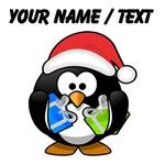 Custom Santa Claus Penguin