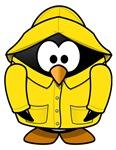 Rain Coat Penguin