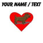 Custom Norwich Terrier Heart