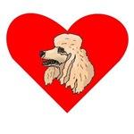 Poodle Heart