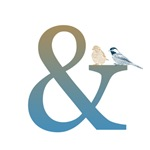 Ampersand with Birds