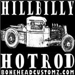 HILLBILLY HOTROD WHITE