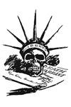 liberty skull T-shirts