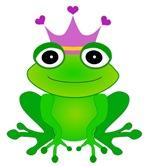 Purple Crown Frog Prince