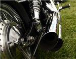 Motorcycle tail pipes- clothes section