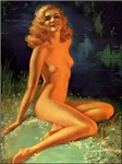 Retro Pin Up Art Products