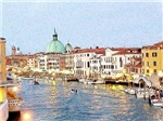 Buonasera Venezia, Photo / Digital Painting