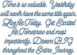 Time's Value Dream BIG Design