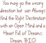Heart of Dreams Dream BIG Design