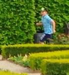 The Running Boy, Photo / Digital Painting