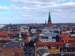 Copenhagen Skyline, Photo / Digital Painting