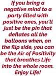 Air of Positivity Enjoy Life! Design