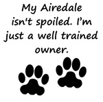 Well Trained Airedale Owner