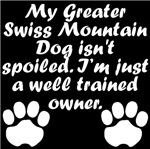 Well Trained Greater Swiss Mountain Dog Owner