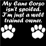 Well Trained Cane Corso Owner