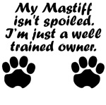 Well Trained Mastiff Owner