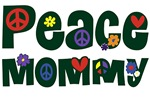 Peace Mommy ~ A fun, whimsical font for peace mommies of every age.