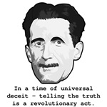 George Orwell, telling the truth quote