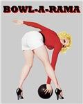 Bowling Pin Up Bowl-A-Rama Bowler