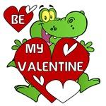 Crocodile Be My Valentine