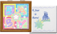 Baby Keepsake Boxes & Tiles