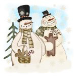 Gingerbread Snowmen