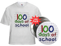 Numbers 100 Days of School