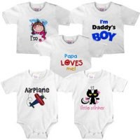 Infant and Toddler T-shirts, Bodysuits, Blankets