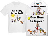 STICK FIGURE FAMILIES PERSONALIZED