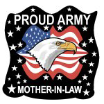 Eagle Army Mother-in-Law Tshirts