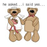 Bride and Groom Bear T-shirts and Gifts