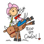Ride Em Cowgirl T-shirts and Gifts