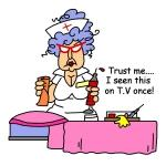 Nurse Trust Me Tshirts and Gifts
