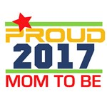 2017 Proud Mom to Be T-shirts and Gifts