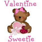 Bear Valentine Sweetie T-shirts and Gifts