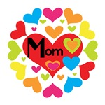 Hearts Galore Mom T-shirts and Gifts