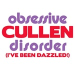 OCD - Obsessive Cullen Disorder Twilight T-Shirts!