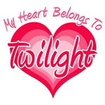 My Heart Belongs To Twilight T-Shirts
