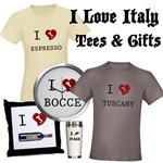 I Love Italy T-Shirts