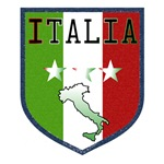 Blue Italia Crest