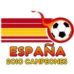 Espana 2010 Campeones T-Shirts