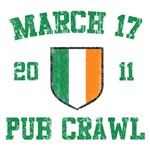 March 17 2011 Pub Crawl T-Shirts