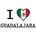 I Love Guadalajara T-Shirts