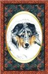 Blue Merle Shetland Sheepdog Sheltie Designer