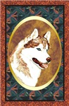 Red Siberian Husky Unique Designer Gift items