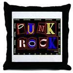 Punk Rock Design Tile Boxes Coasters Cozy Pillows