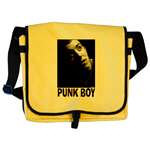 Punk Boy Tote Bags and Messenger Bags