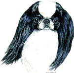 Japanese Chin Black & White Dog Products & Gifts